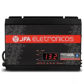 Fonte Automotiva 60a Jfa Carregador Melhor Que Taramps Usina