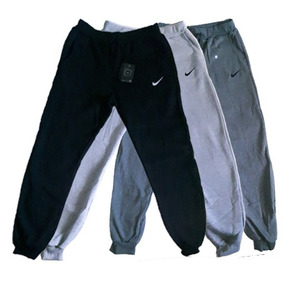 Calça Moletom Nike C/punho Premium Moleton Masculina Inverno