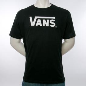 Remera Classic Black Vans Fluid Tienda Oficial