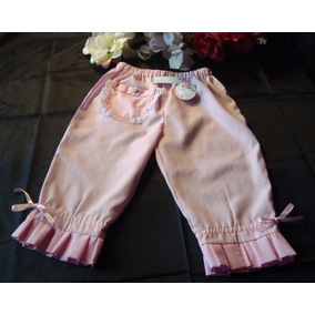 Pantalón Rosa Para Bebés. Primavera-verano 2018 T. 6/18meses