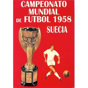 Álbum De Figurinhas Digitalizado Copa Do Mundo 1958