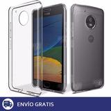 Film Vidrio Templado Motorola Moto G5 + Funda Slim De Regalo