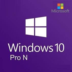 Windows 10 Pro N / Oficial / Entrega Inmediata