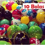 Kit 10 Bola De Vinil Coloridas Lembrança P/ Aniversário 36cm