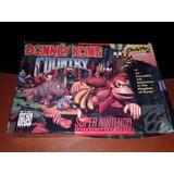 Donkey Kong 1 - Original Americano - Completo-super Nintendo