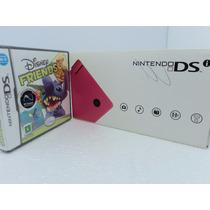 Nintendo Ds I Rosa Otimo Estado Com Jogo Super Barato.