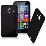 Forro Protector De Silicona Para El Nokia Lumina 640 Xl