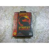 Mortal Kombat 1 Sega Genesis Juego Original 1992 Nuevo