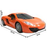 Carro Control Remoto Rc Luz Juguete Recargable 1:24 Ferrari