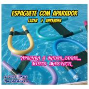 Espaguete Macarrão P/piscina C/aparador Nadar Boiar Kit C/01