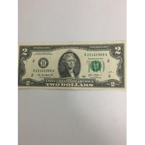 Billete Dos Dolares Americanos