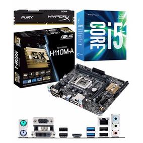 Kit Intel Core I5 7500 + Asus H110m-a/m.2 +ram Fury 8gb Ddr4