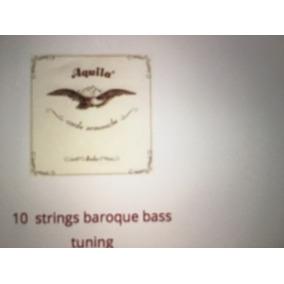 Cordas Para Guitarra De 10 Cordas Barroca Aquila