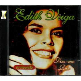 Cd / Edith Veiga = Faz-me Rir - Gravadora Revivendo