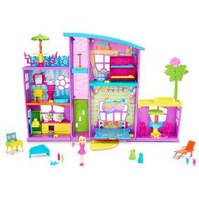 Polly Casa De Surpresas Da Polly - Mattel