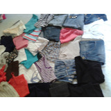 Lote 32 Bermudas Shorts Blusas Calças Feminino Tm 36 Promoca