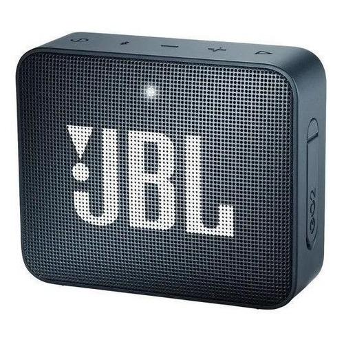 Alto-falante JBL Go 2 portátil com bluetooth slate navy