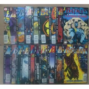 Batman - A Queda Do Morcego - 4ª Série/abril Completa