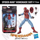 Marvel Legends Spider-man Homecoming Homemade Suit En Stock