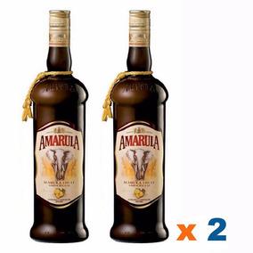 2 Amarula 750ml Original Lacrado Licor Original Lacrada