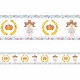 Faixa Adesiva Decorativa Border Menina Princesa