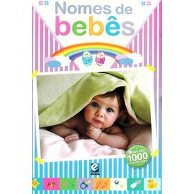 Livro - Nomes De Bebês - Mais De 1000 Significados