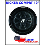 Kicker Comprt10 Subwoofer 600 Watt Rms 1200 Watt Max Power