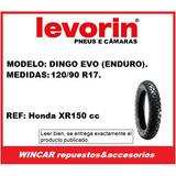 Cubierta 120/90 R17 Levorin (ref: Xr150 Trasera Enduro)