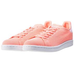 Tenis adidas Stan Smith Primeknit Clasico Coral No. Ba7145