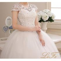 Vestido Noiva Brilho Casamento Debutante Pronta Entrega