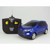 Ford Ecosport Azul Controle Remoto 1:24 - Cks