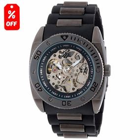 Reloj Caballero Rocawear Automático - Cristal Mineral - Cfmx