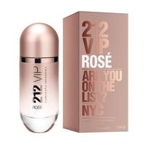 Perfume 212 Vip Rose Carolina Herrera. 100 Ml Dama