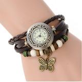 Reloj Para Mujer En Cuero Vintage Paquete Por 20 Unidades