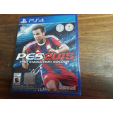 Pes 2015 Pro Evolution Soccer Ps4 Vendo O Permuto Sellado