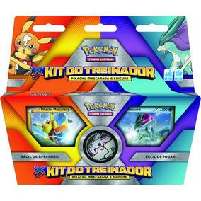 Kit Pokémon Treinador Pikachu Masc Suicune