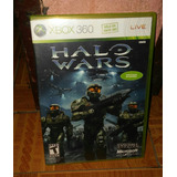Halo Wars Xbox 360 Original Compatible Con Xbox One
