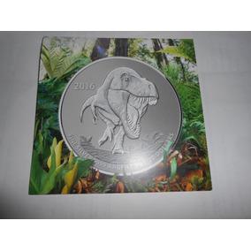 Moneda Canada Plata 20 Dolares Tiranosaurio Con Certificado.