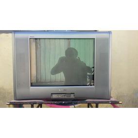 Televisão 21 Polegadas Stereo Com Rádio 3 Entradas A/v