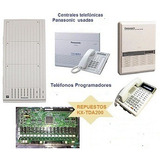 Central Telefonica Panasonic 3/8 6/16 12/32 Tes Tda 100 200