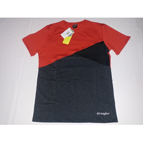 Remera Tricolor Magher Hombre Training/crossfit