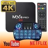 Convertidor Smart Tv Box Mxq Pro 4k Android 6 3d + Teclado