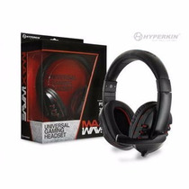 Xbox 360 Ps3 Ps2 Pcmac Auricular Universal Max Wave Hyperkin