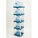 Rack De Plástico Para 5 Garrafones. Envío Gratis