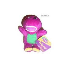Barney Peluche 22 Cm Nuevo Sin Sonido