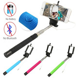 Baston Selfies Boton Integrado Incorporado Monopod Celulares