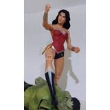 Boneco Action Figure Mulher Maravilha Dc Liga Da Justiça