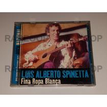 Luis Alberto Spinetta (cd) Fina Ropa Blanca (altaya) Exitos