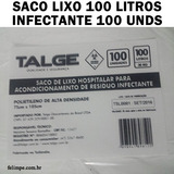 Saco De Lixo 100 Litros Hospitalar Resíduo Infectante Rj