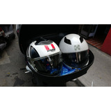 Caja Grande 51 Litros 2 Cascos Cajuela Maletero Topcase Moto